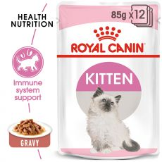 Royal Canin Kitten Instinctive Gravy kapsička pre mačiatka v šťave 12 x 85 g