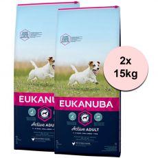 Eukanuba Active Adult Small Breed 2 x 15 kg