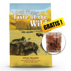TASTE OF THE WILD High Prairie Canine 18,14 kg + DARČEK
