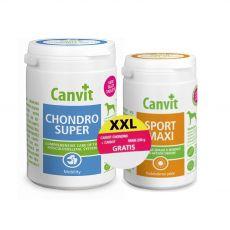 Canvit Chondro Super 500 g + Canvit Sport Maxi 230 g GRÁTIS