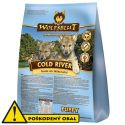 WOLFSBLUT Cold River Puppy 12 kg - POŠKODENÝ OBAL
