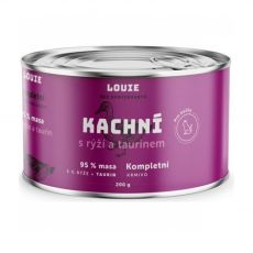 LOUIE Kačka s ryžou a taurínom 200 g