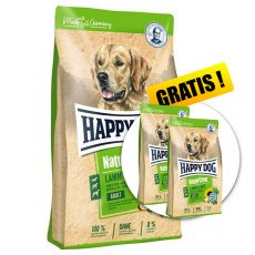 Happy Dog NaturCroq LAMM & REIS 15 kg + DARČEK