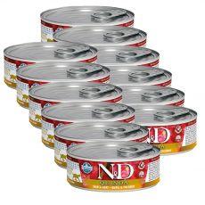 Farmina N&D cat Quinoa Quail & Coconut konzerva 12 x 80 g