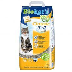 Biokat's Classic 3 v 1 podstielka 18 l