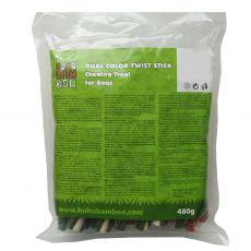 HUHU Bamboo 2-farebné tyčinky 480 g