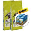PURINA DOG CHOW ADULT LARGE BREED Turkey 2 x 14 kg+ DARČEK