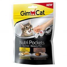 GimCat Nutri Pockets Taurine – Beauty Mix 150 g