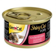 GimCat ShinyCat kura + krab 70 g