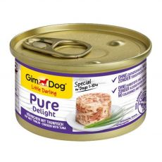 GimDog Pure Delight kura + tuniak 85 g