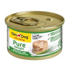 GimDog Pure Delight kura + jahňa 85 g