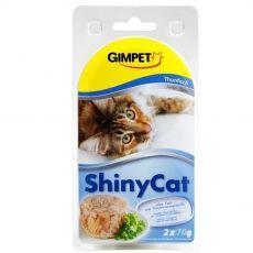 GimCat ShinyCat tuniak 2 x 70 g