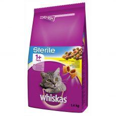 WHISKAS Sterile pre mačky 1,4 kg