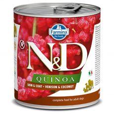 Farmina N&D dog QUINOA venison & coconut 285 g