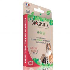 Obojok BIOGANCE Biospotix Large dog L-XL s repelentným účinkom 75 cm