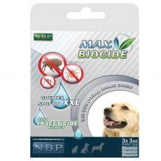 MAX BIOCIDE Antiparazitné kvapky pre psy 3 x 3 ml