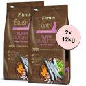 Fitmin Purity Puppy Grain Free Fish 2 x 12 kg