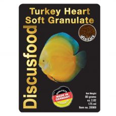 Discusfood Turkey Heart Soft Granulate 1,5 mm 80 g