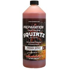 Zálievka Starbaits Booster PREP X SQUIRTZ INDIAN SPICE 1L