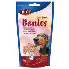 Soft Snack BONIES Light - kostičky - hovädzie/morčacie 75g