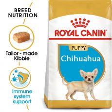 ROYAL CANIN Chihuahua Puppy granule pre šteňa čivavy 1,5 kg - POŠKODENÝ OBAL