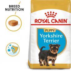 ROYAL CANIN Yorkshire Puppy granule pre šteňa jorkšíra 6,3 kg - POŠKODENÝ OBAL