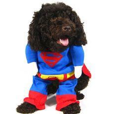 Karnevalové oblečenie pre psa SUPERMAN - L