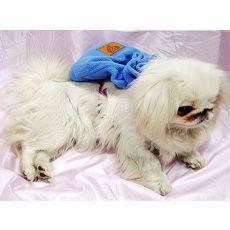 Batoh pre psa s telovým postrojom - modrý