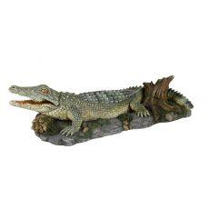 Dekorácia - Krokodíl na Skale
