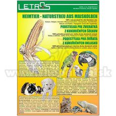 Podstielka kukuričná 10L - jemná