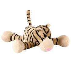 Hračka pre psa - plyšový tiger - 18cm