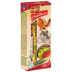 Vitapol Smakers Jablkové tyčinky pre hlodavce 90g