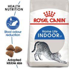 Royal Canin Indoor granule pre mačky žijúce vo vnútri 4kg