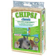 CHIPSI Classic - Hoblinová podstielka pre hlodavce 60L