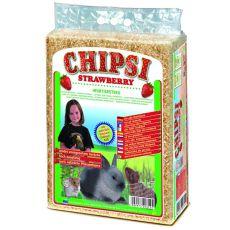 CHIPSI STRAWBERRY - podstielka s vôňou Jahoda 60 L