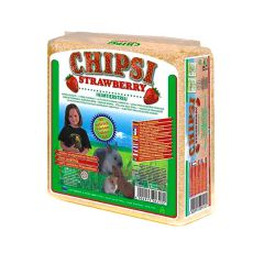 CHIPSI STRAWBERRY - podstielka s vôňou Jahoda 15 L