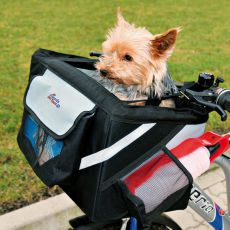 Prenosný box pre psa na bicykel 38 x 25 x 25 cm