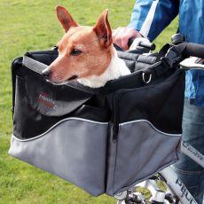 Luxusný prenosný box pre psa na bicykel 41 x 26 x 26 cm