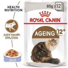 Royal Canin Ageing +12 Jelly kapsička pre staré mačky v želé 85 g