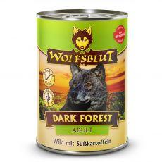 Konzerva WOLFSBLUT Dark Forest Adult Wild 395 g