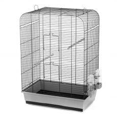 Klietka pre vtáky NINA čierna - 54 x 34 x 75 cm