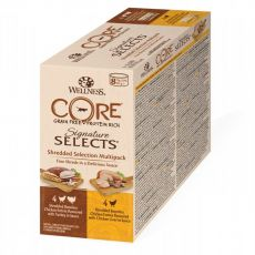 Wellness CORE Signature Selects Shredded Selection Multipack 8 x 79 g
