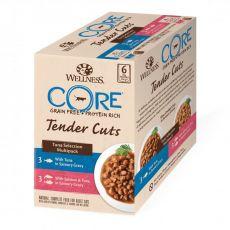 Wellness CORE Tender Cuts Tuniakový multipack 6 x 85 g