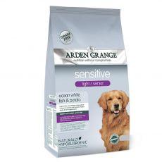 ARDEN GRANGE Sensitive light/senior 12 kg