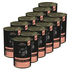 Fitmin Cat For Life Salmon 12 x 415 g
