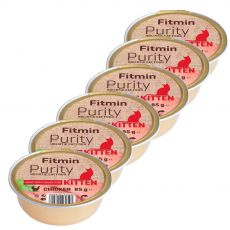Fitmin Kitten Purity kuracia vanička 6 x 85 g