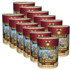 Konzerva Wolfsblut Blue Mountain Puppy 12 x 395 g