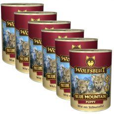 Konzerva Wolfsblut Blue Mountain Puppy 6 x 395 g
