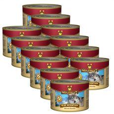 Konzerva Wolfsblut Blue Mountain 12 x 200 g