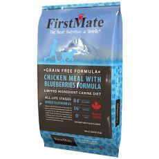 FirstMate Chicken & Blueberries 12,5kg - POŠKODENÝ OBAL